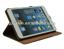 fold leather case for ipad mini,protect your cell phone case