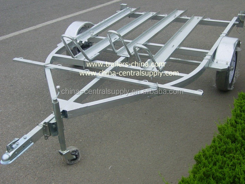 Factory Supply and Sale 3.8m 3 motorcycle Trailer CT0302B