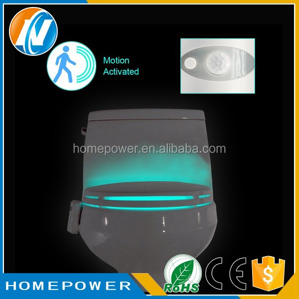 Promotional gifts 2017 Night Light LED Toilet Light /Toilet seat toilet lamp LED induction lamp