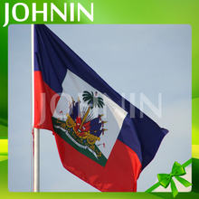 Hot selling professional custom 3x5ft polyester printing haiti national flag