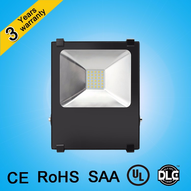 Factory supplier Meanwell driver 110lm/W IP65 100w 50w 20 watt led flood light for 3 years warranty