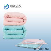 Portable Bedding and Clothing Plastic Storage Vacuum Bag