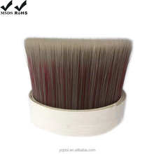 Mixture Color Single Tapered PBT Paint Brush Bristles Filament