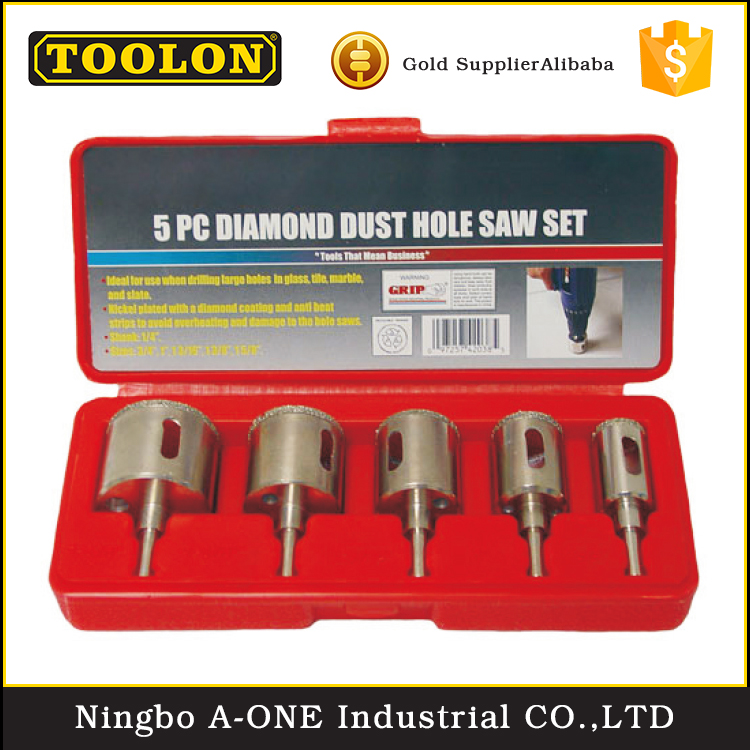 Dry Vacuum Brazed Diamond Hole Saw For Drilling Tiles