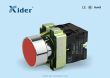Xider Non-illuminated Flush Push Button Switch 1 NO 1 NC LAY5-BA45