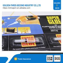 Fast Curing High Strength of Glass Super glue sealant Heat