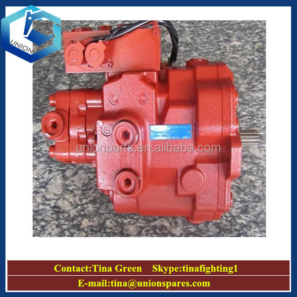 Genuine Kayaba PSVD2-17E-23 Hydraulic Pump for Mini Excavator VIO55