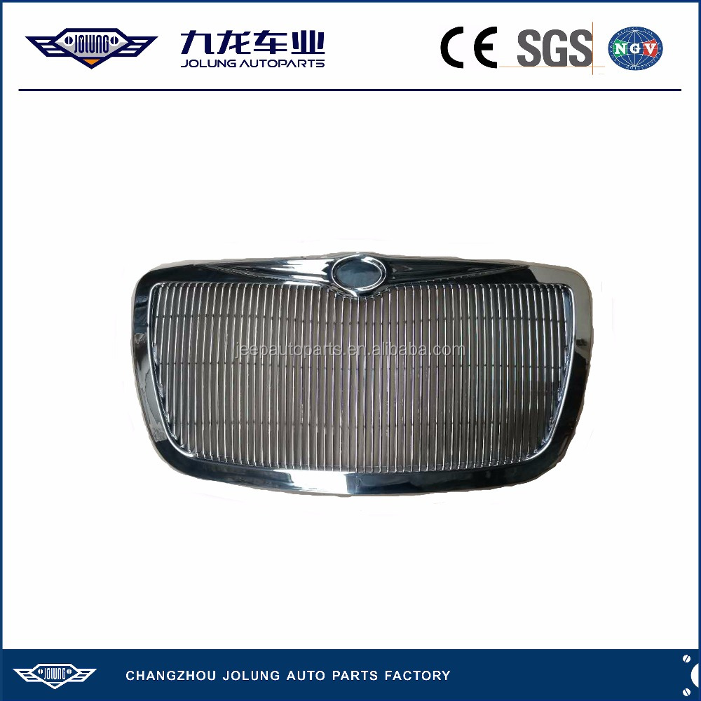 For Jeep Chrysler 300C Chrome Vertical Lattice Type Grille