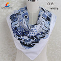 new 2015 spring autumn chiffon georgette silk feeling long scarves shawl women flower printed scarves wholesale