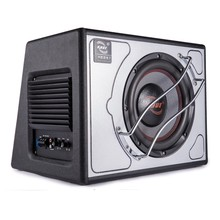 10 inch high power dual coil active car audio subwoofer