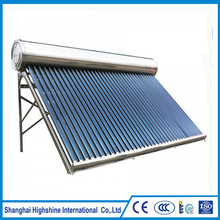 China best food grade silicone rubber gasket nonpressure all stainless steel solar water heater