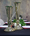 gold cheap table vase wedding decoration two size