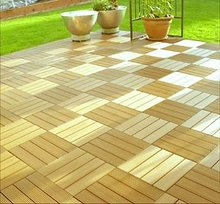 <strong>wood</strong> and plastic composite WPC DIY tiles with different looking