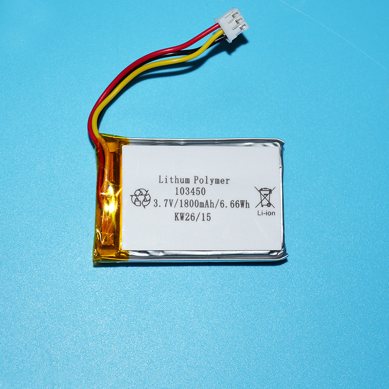 On wholesale lipo <strong>battery</strong> 3.7v 1800mah 103450 with good price