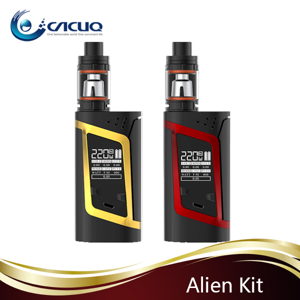 CACUQ Fast shipping High quality Smoktech Vape 220W Alien Kit