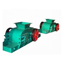 CE ISO Approved double roll crusher, electric motor double tooth roller crusher