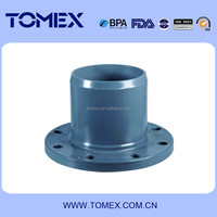 Convenient installation rubber PVC pipe fitting flange made in China