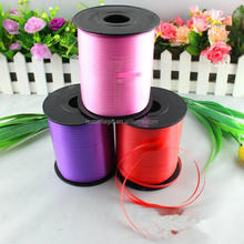 Manufacture selling balloon colorful curling ribbon