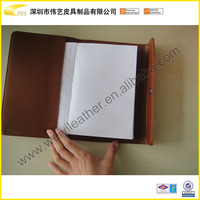 Gorgeous Leather Made Men Covers For Books---Brown Color