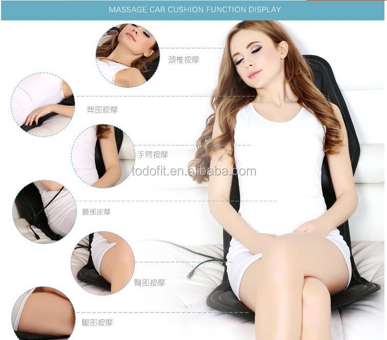 Orthopedic Comfort Foam Coccyx Seat Massage Cushion