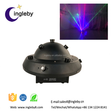 new arrival High precision stepper motor RGB mushroom fat beam laser lights