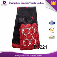 punjabi suit lace design with red and black lace dress fabric african beaded raw silk george with embroidery pattern