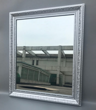40x50cm mirror, Polystyrene frame with mirror, Wall or table mirror