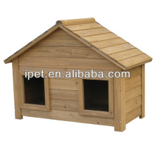 Large outdoor wooden Waterproof dog kennel DK003S