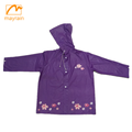 Kid's washable rain coat jacket