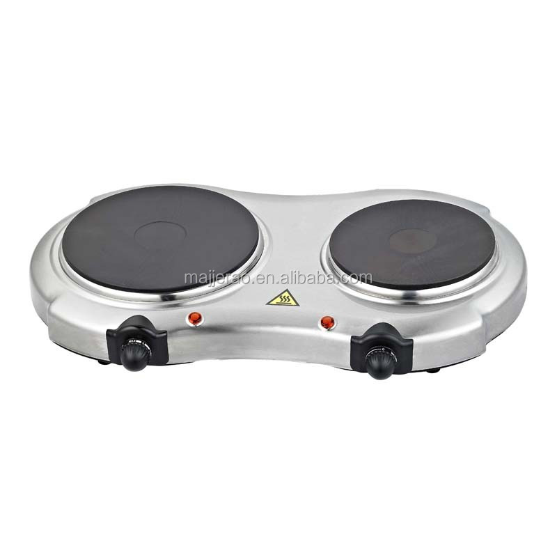 1500W Electric double burner cooking hot plate