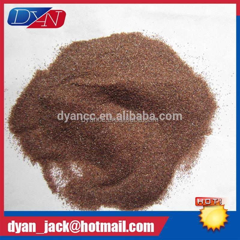 DYAN garnet filter media Abrasive material Specific Weight 4.1 g/cm3 replace silica sand in water filtration