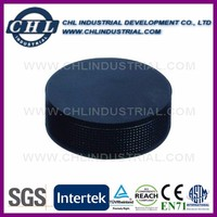 Factory promotional hockey puck shape stress ball