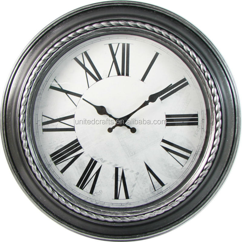 OEM / ODM plastic mechanism promotional wall clock