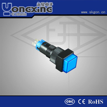 16mm IP40 illuminated momentary push button switches /stainless steel pushbutton switch