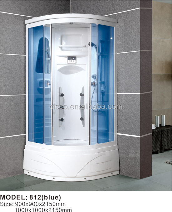 Fashion digital product steam shower room/ shower cabin 812