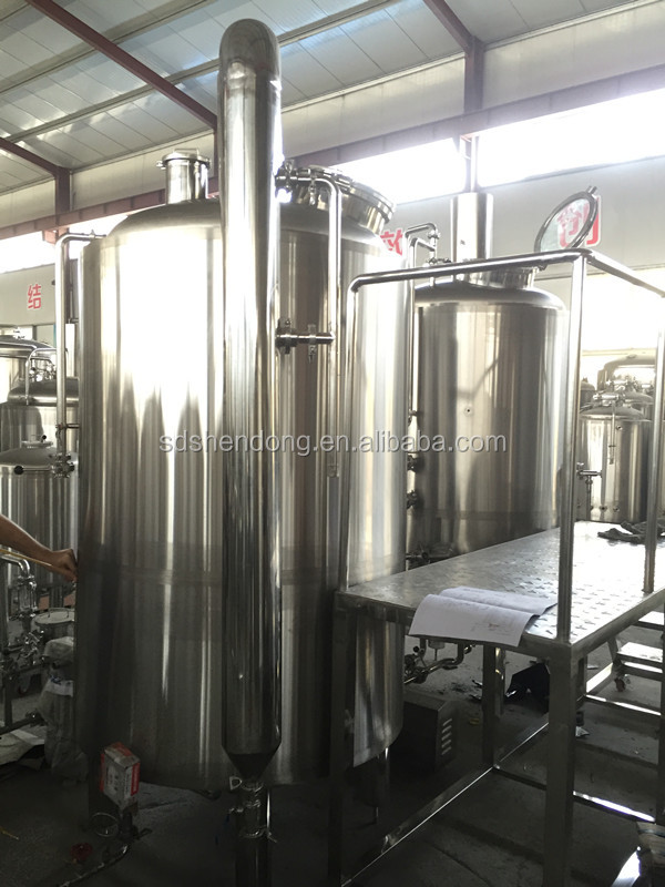 500L Turnkey Service Stainless Steel Beer
