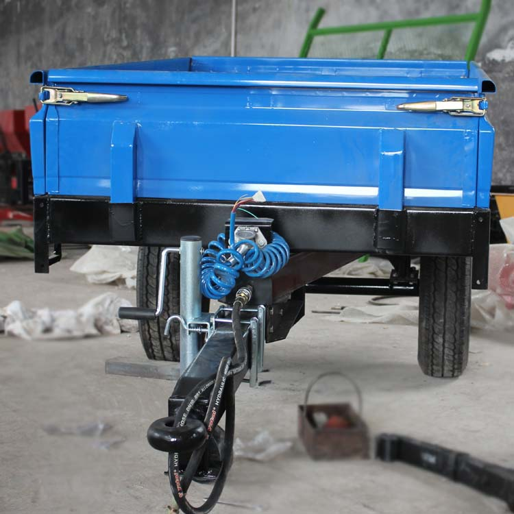 China best Europe style one ton farm trailer price