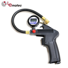 Portable Electric Tyre Inflatable Auto Digital Vehicle Tools Of Car Air Tire Inflator Gun