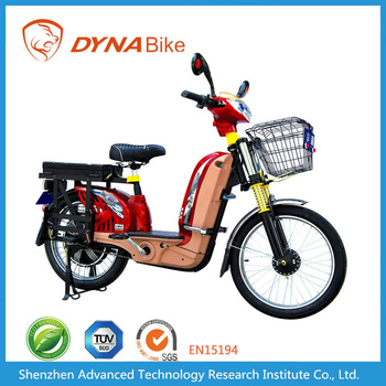 Dynabike Power C1 - 250~450W Motor - 12AH Lead Acid Battery - Electric Moped