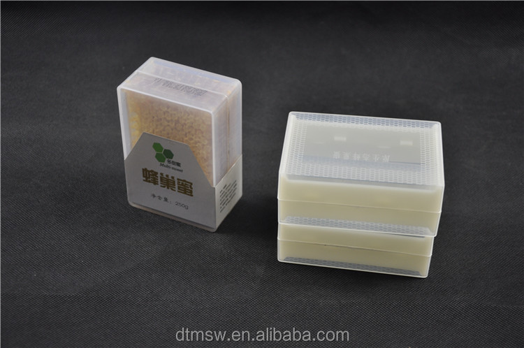 Special! plastic comb honey box 250g/500g,cheap honey comb container for bee