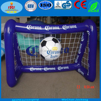 Corona Promo Inflatable football door, Inflatable football gate