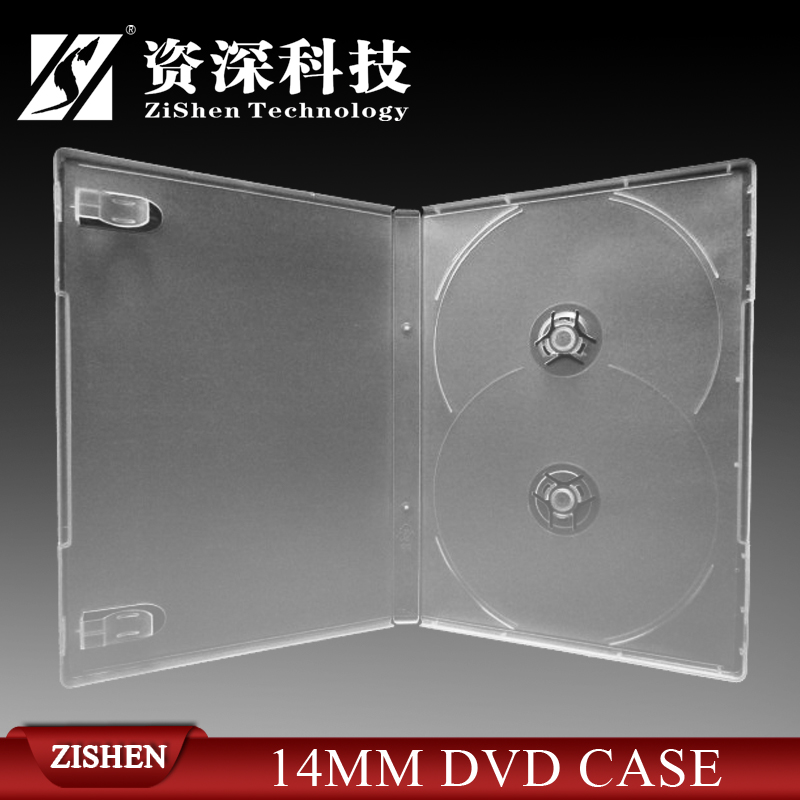 Long Plastic Double Dvd Case