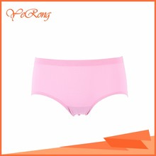 Seamless Wholesale Satin Feel Panties Young Girls Wearing Knickers With Custom Logo