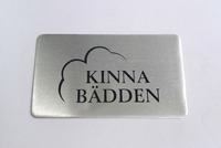 custom etched labels personalized design or etching stamping metal leather labels