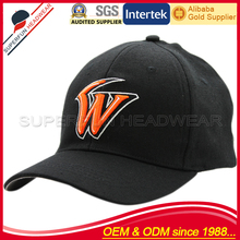 Customize embroidered logo fitted boys baseball caps