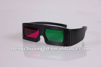 HCBL factory sell green Magenta 3D glasses for animation on sale