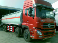 Dongfeng 28 m3 Cummins engine 8x4 fuel tanker trailer dimensions