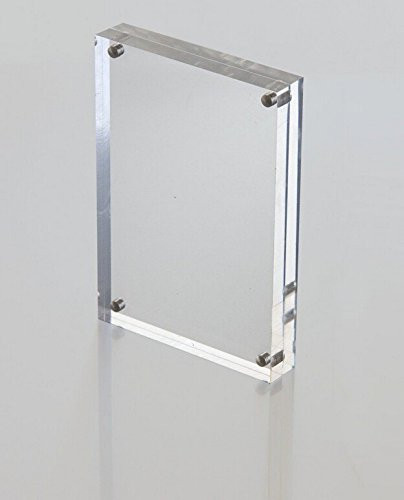 magnet block high quality thick acrylic block