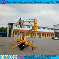 12m 16m CE mobile light boom lifts for sale