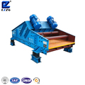 Vibrating Screen Dewatering Sand After Washing Wet Sand Screening Machine